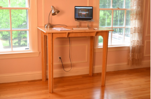 desk in home context