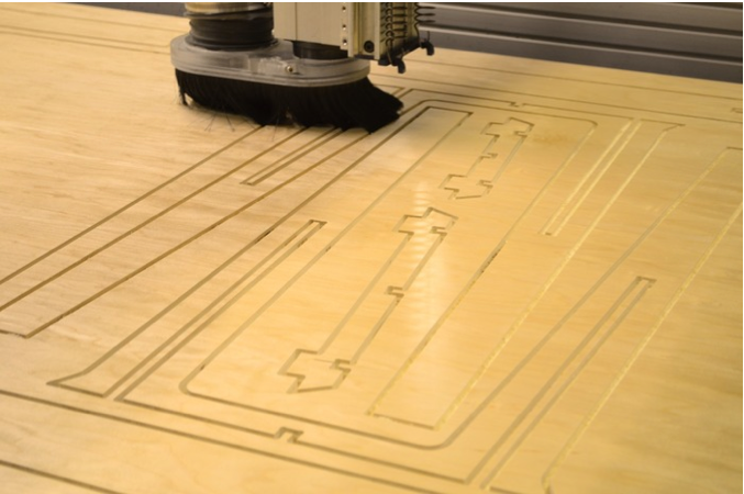 100% digital manufacture on a ShopBot CNC router