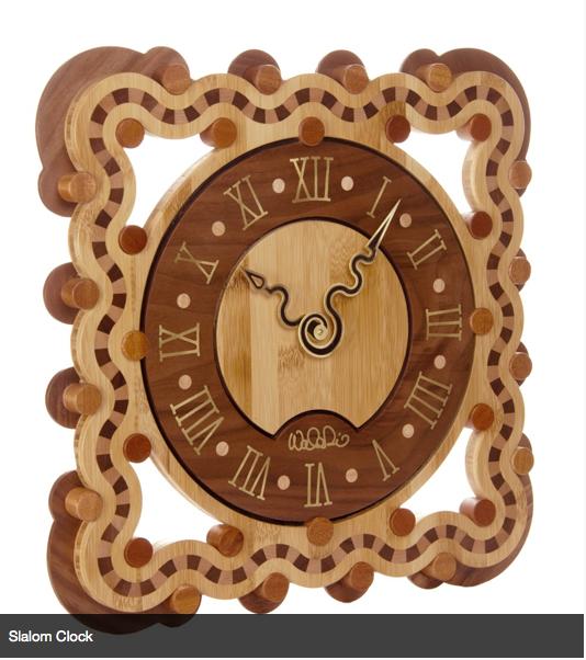 """""""Slalom clock"""" by Walter Dill"""