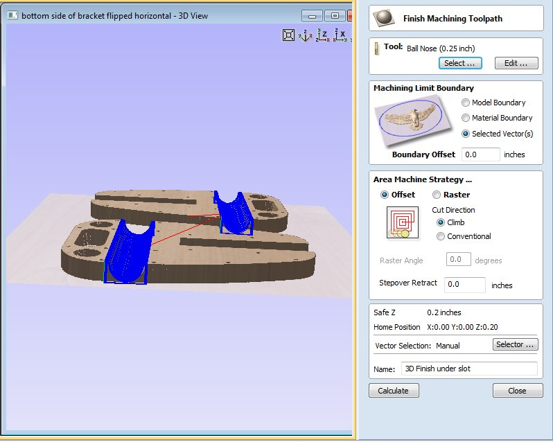 Machining a Two-sided 3D Model Created in Solidworks